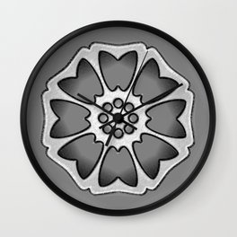 THE LOTUS TILE Wall Clock