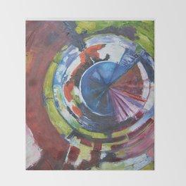 Kaleidoscope, original artwork, 24 X 30 Throw Blanket