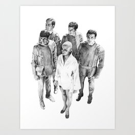 Star Trek - Let's see V'ger Art Print
