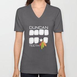 Duncan Teeth Unisex V-Neck