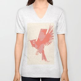 Tilted Bird Unisex V-Neck