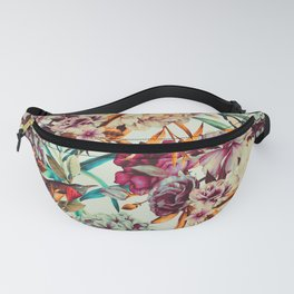 Bouquets pink vintage flowers 10 Fanny Pack