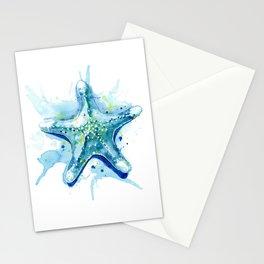 Starfish Waters II Stationery Cards