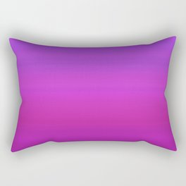 Purple & Blue Stripes | Bright gradient pattern Rectangular Pillow
