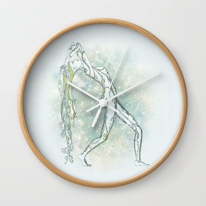 Aquarius Wall Clock