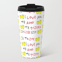 Je t'aime 7-i love you,je t'aime,te amo,te quiero,ich liebe dich,love,romantism,romantic,heart,cute Travel Mug
