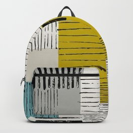 Patch Style Backpack