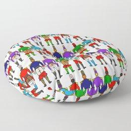 Nutcracker Ballet Butts Floor Pillow