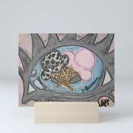 I Scream Mini Art Print