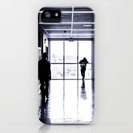 High School Blues iPhone Case