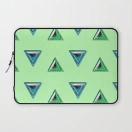 Trillion Gemstone Pattern Laptop Sleeve
