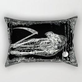 DEATH of Tarot Cat Rectangular Pillow