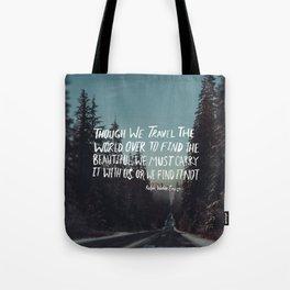 Road Trip Emerson Tote Bag