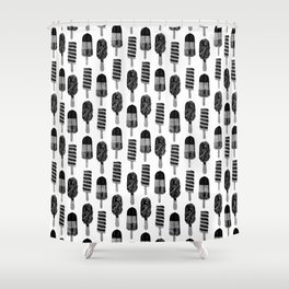 Space Pops Shower Curtain