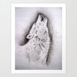 Moon Watch Art Print