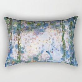 Garlic Lilies Water Lilies Fine Art Parody Rectangular Pillow