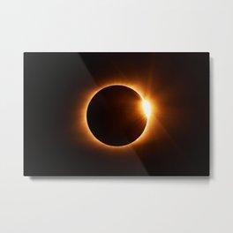 The Eclipse (Color) Metal Print