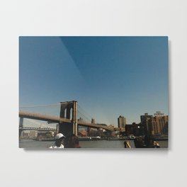 BROOKLYN BRIDGE / New York City Metal Print