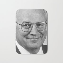 Dick Cheney, Vice President of the United States Bath Mat