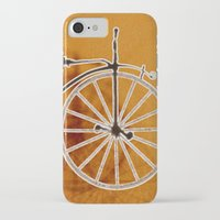 bike iPhone & iPod Cases featuring Bike by CrismanArt