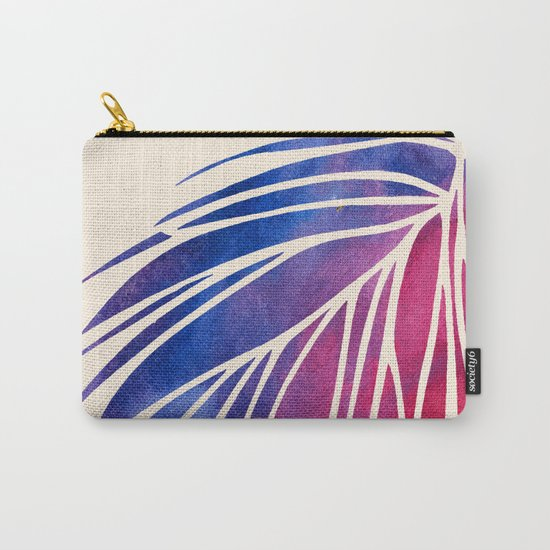 Watercolor Porcupine Carry-All Pouch
