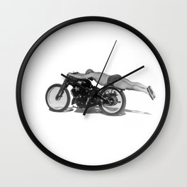 Flat Out Wall Clock