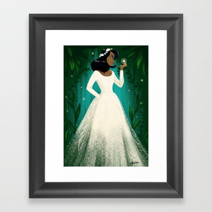 Black Girl Magic 1 Gerahmter Kunstdruck