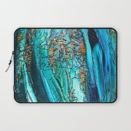 Doodle in blue Laptop Sleeve