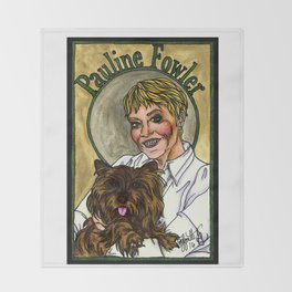 Pauline Throw Blanket