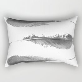 Faded Feathers Rectangular Pillow