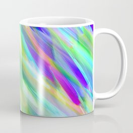Colorful digital art splashing G401 Coffee Mug