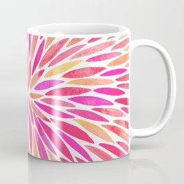 Watercolor Burst – Pink Ombré Coffee Mug