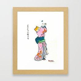 Fuji Chan Framed Art Print