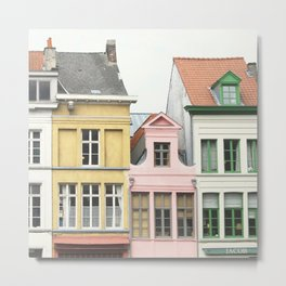 Gent Houses Metal Print
