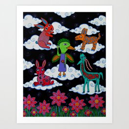 Oaxacan Suenos Art Print