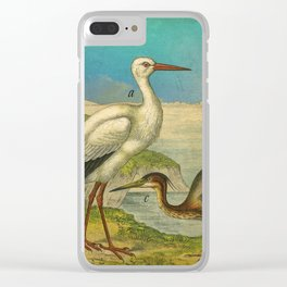 3 Waterbirds Clear iPhone Case