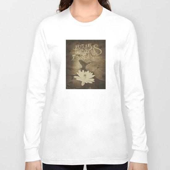 Lotus in My Dreams Long Sleeve T-shirt