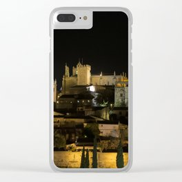 Caceres night Clear iPhone Case