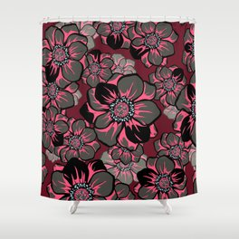 Mandala Flowers 16 Shower Curtain