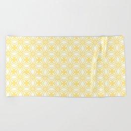 HELLO YELLOW - ANISSA DIAMOND by MS Beach Towel