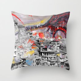 Tbilisi 3 Throw Pillow