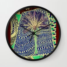 Jardin 4 Wall Clock