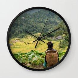 Sa Pa Landscapes II - Vietnam Wall Clock