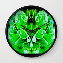 Grumpy Fauna Wall Clock