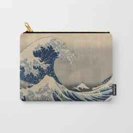 Katsushika Hokusai - Under the Wave off Kanagawa (1830) Carry-All Pouch