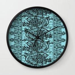 Vintage Lace Island Paradise Wall Clock