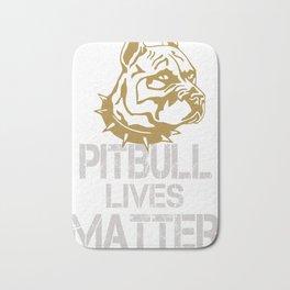 Pitbull Lives Matter Bath Mat