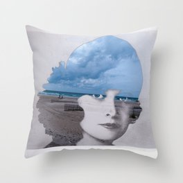Full Of Ocean Throw Pillow