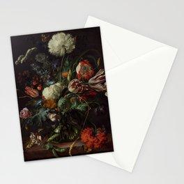"Jan Davidsz. de Heem ""Vase of Flowers"" Stationery Cards"