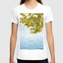 Relaxing time by the lake T-shirt